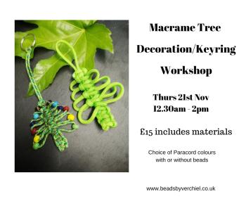 Mini Macrame Tree Decoration Workshop