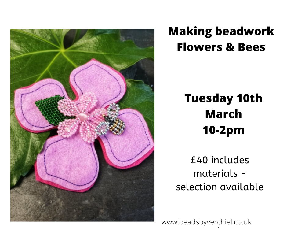 making beadwork flowers and bee workshop.png