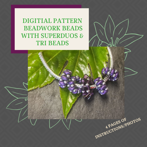 DIGITAL PDF PATTERN - BEADWORK BEADS