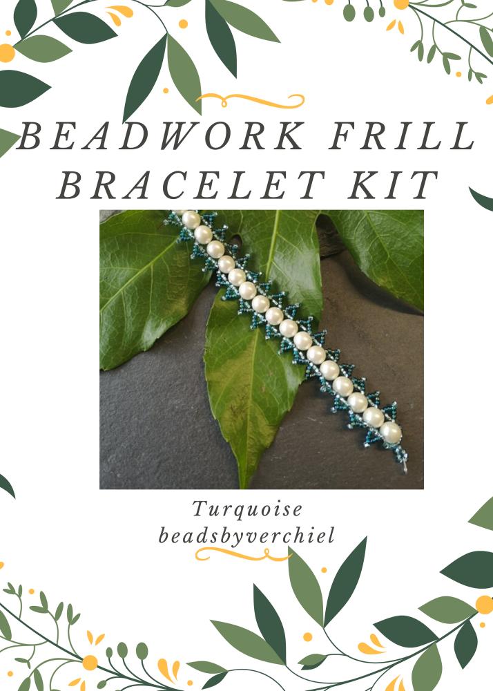 Turquoise Beadwork Bracelet Kit