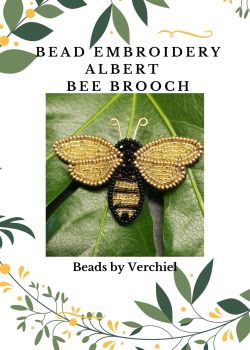 "Bead embroidery Bee  ""Albert""  kit"