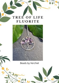 Fluorite Tree of Life Jewellery Making Kit
