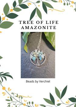 Amazonite Tree of Life Jewellery Making Kit
