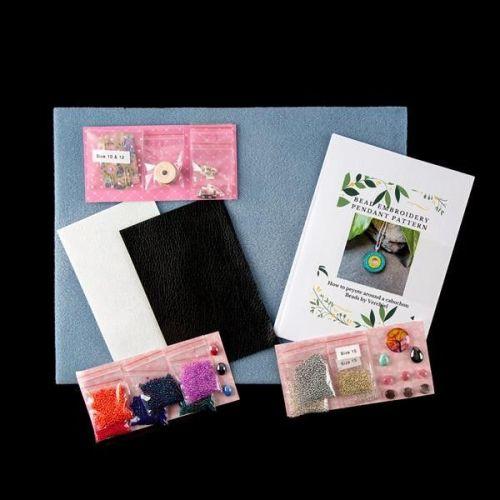 <!001-> Beginners Bead Embroidery Starter Kit