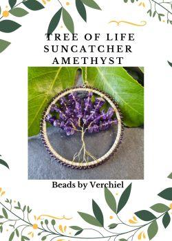 Amethyst Tree of Life Suncatcher kit