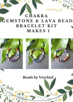 Chakra Gemstone Bracelet Kit