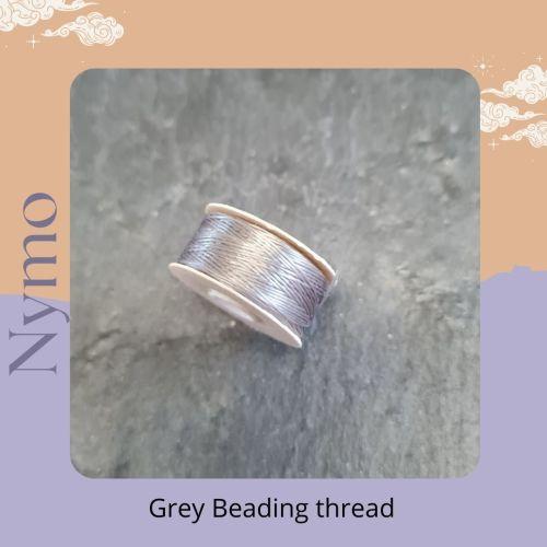 Grey Nymo 64 yards per reel