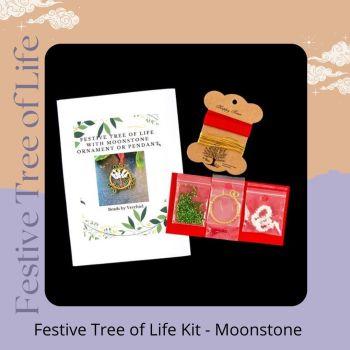 FESTIVE Tree of Life Kit - Moonstone gem
