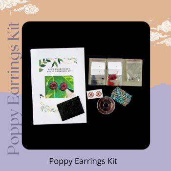 Poppy Earrings Kit