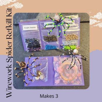 Spooky Spider REFILL Kit-MAKES 3
