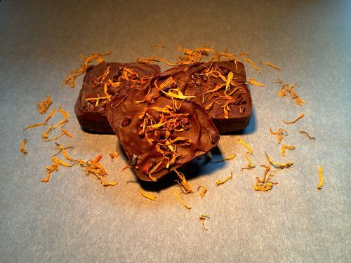 Raw Chocolate Orange Brownies