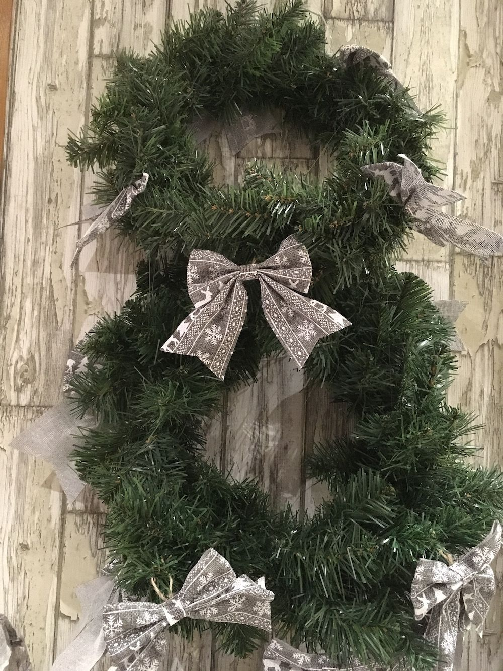 wreath at the little Boutique