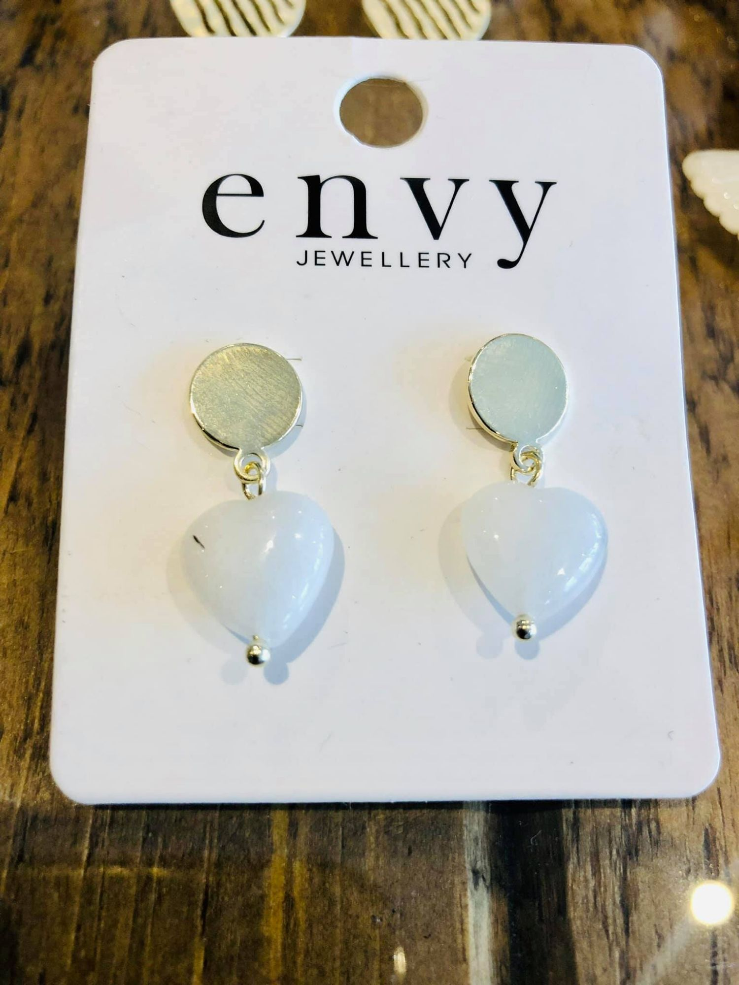 Enby Semi Precious Earrings