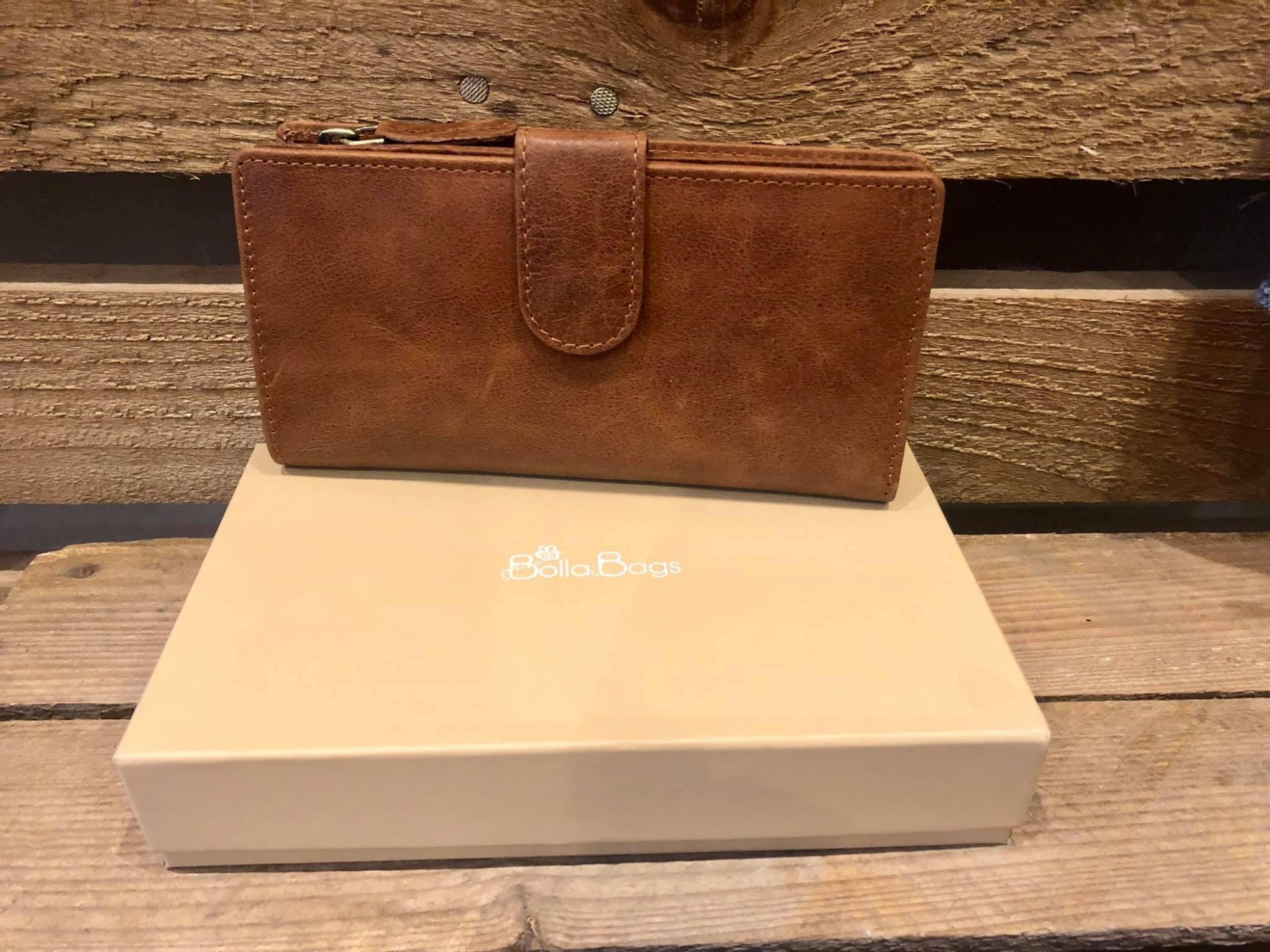 Leather Purse from Bolla Bags