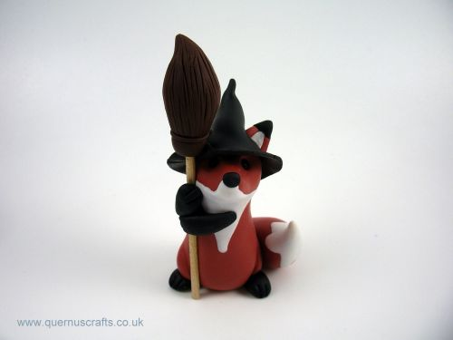 Little Witchy Broomstick Fox MHL