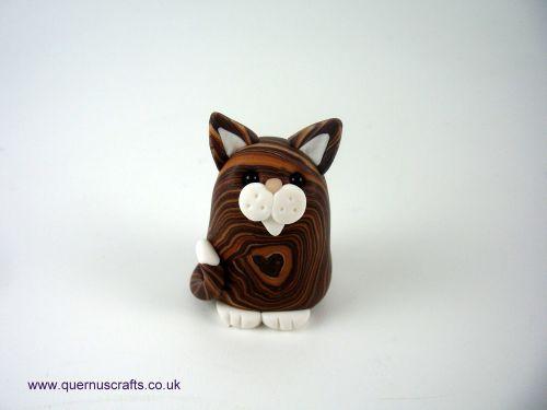 Little Brown Love Fatty Cat QL8