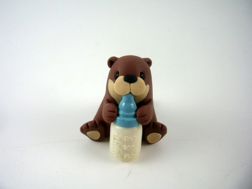 Wee Baby Otter (Blue) QL8