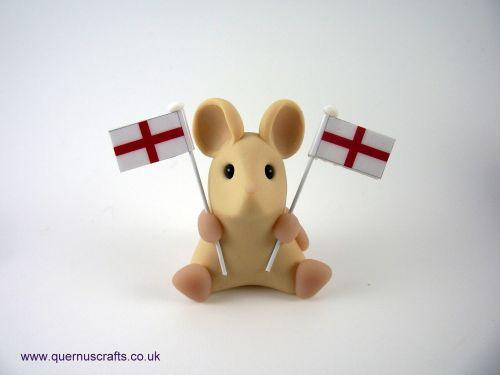Little England Flag Mouse QL9