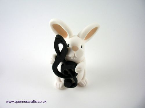Little Treble Clef Bunny QL9