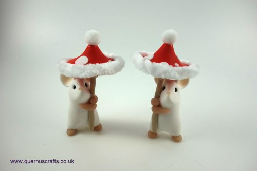 Little Santa Toadstool Mouse QCL