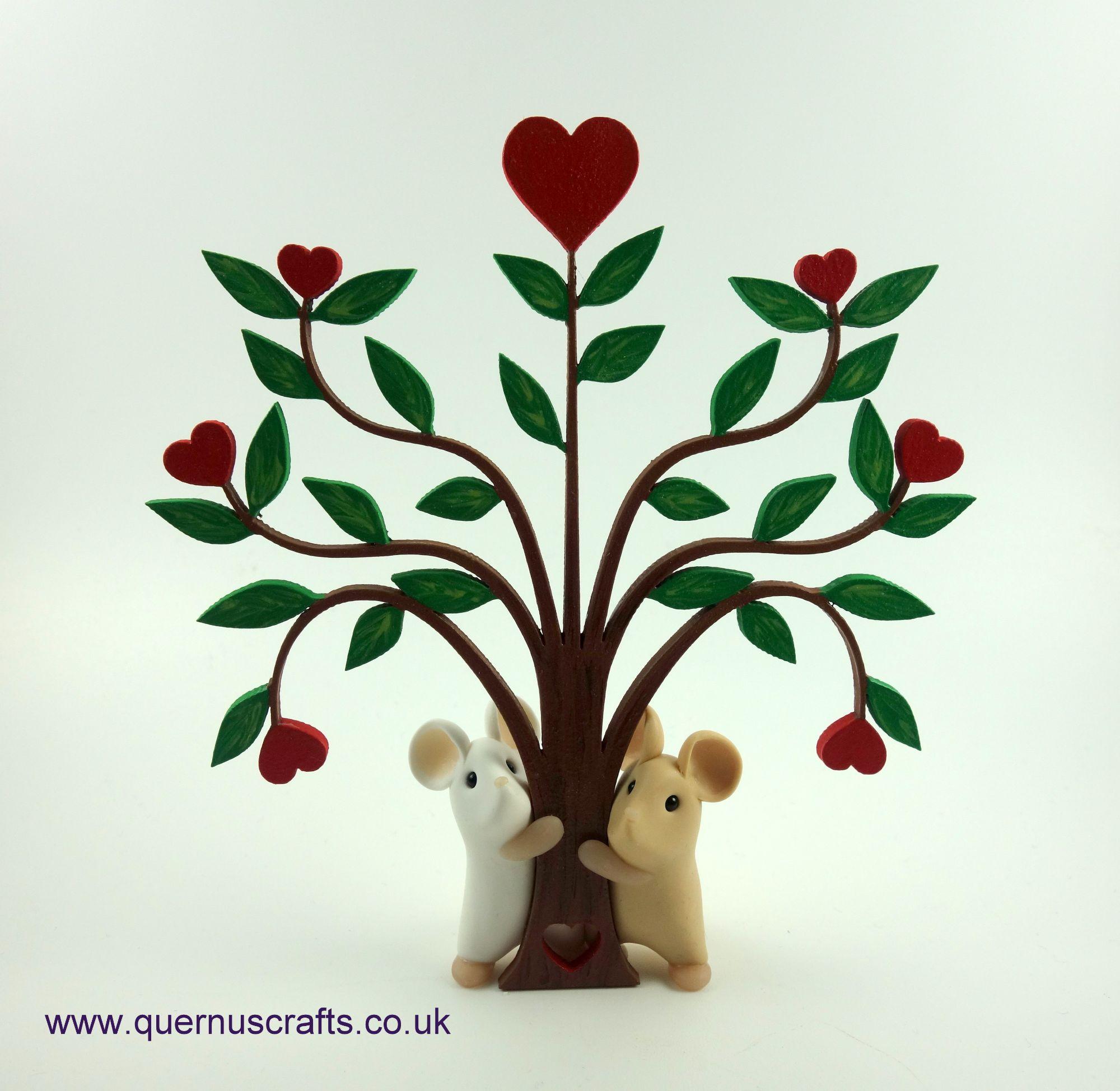 Wooden Love Tree Mice £70