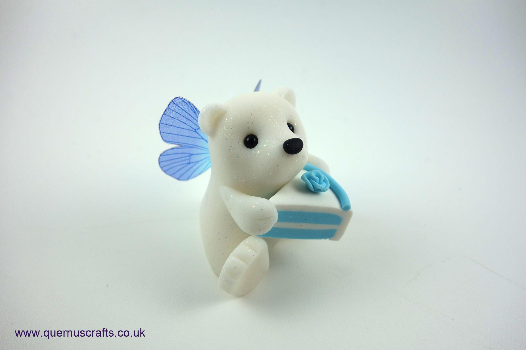 Fairy Cake Polar Bear (Blue)