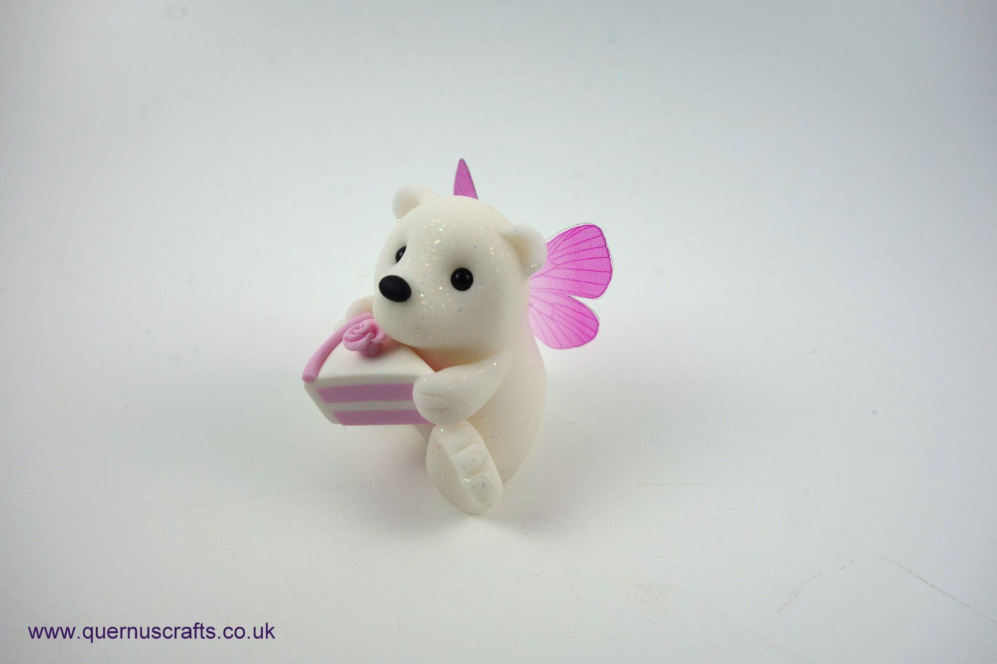 Fairy Cake Polar Bear (Pink)