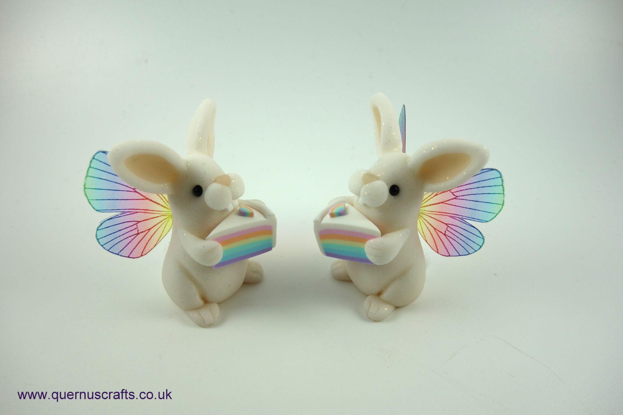 Little Fairy Rainbow Cake Bunnies