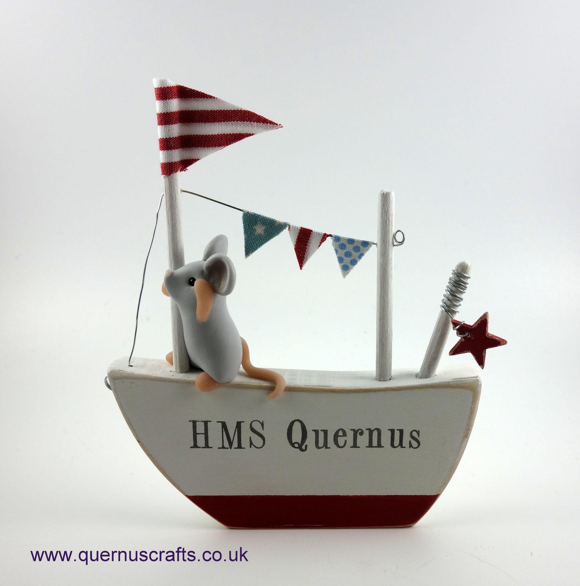 Captain Mouse and HMS Quernus
