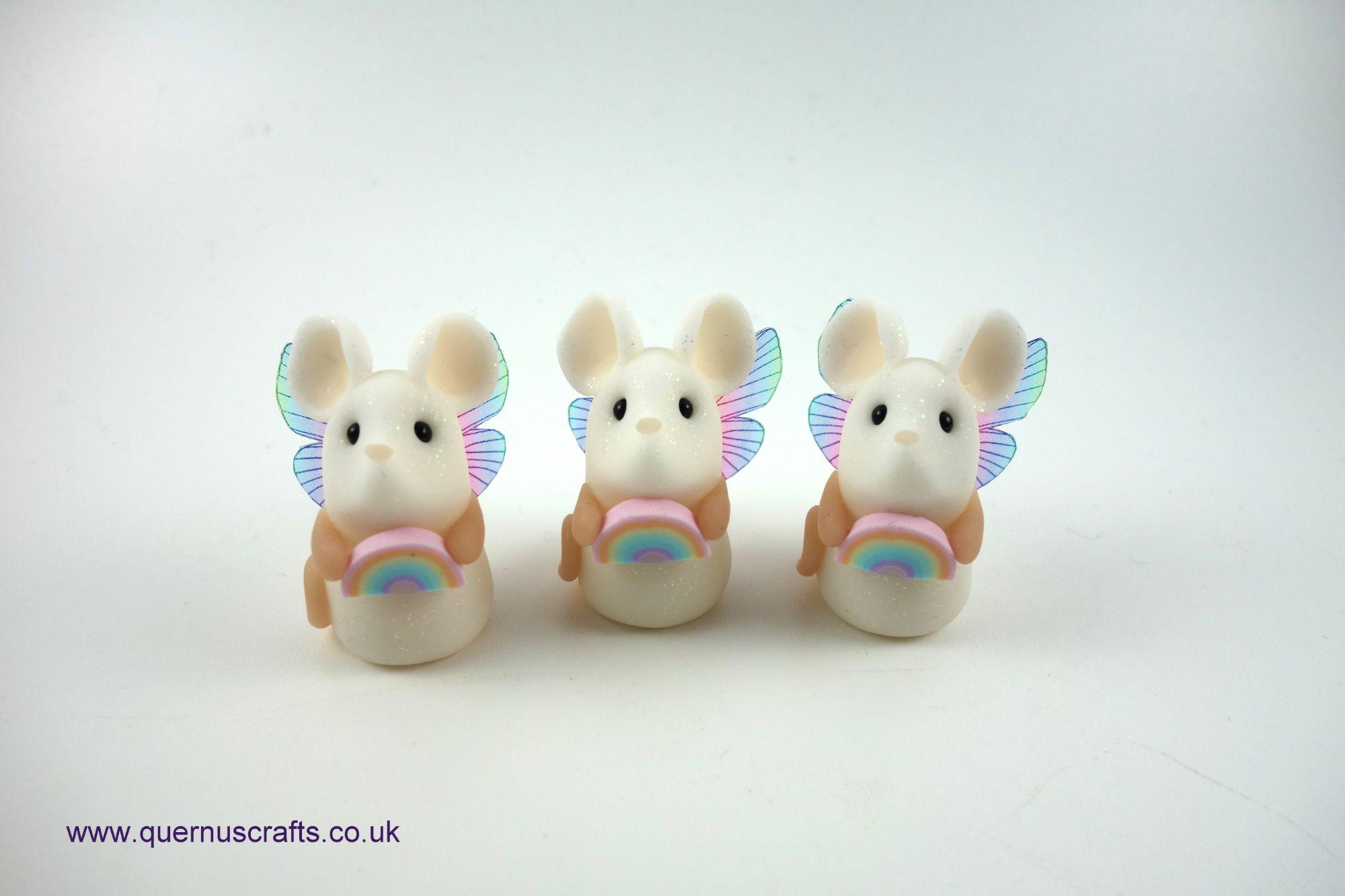Tiny Fairy Rainbow Mice