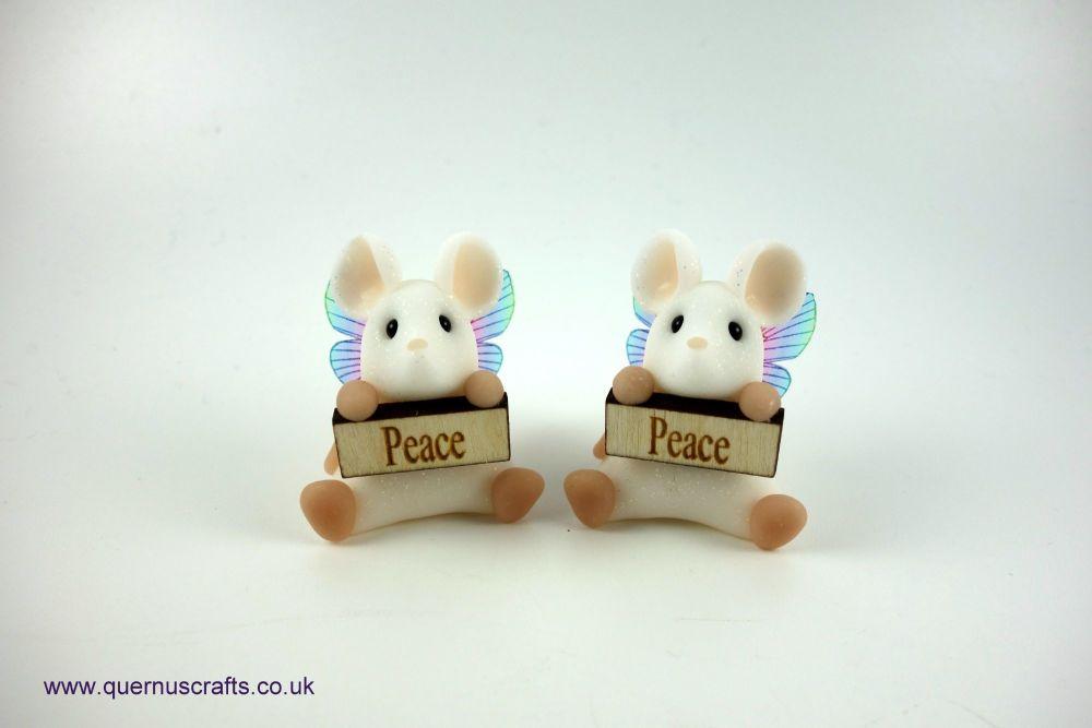 Little Fairy Peace Mouse