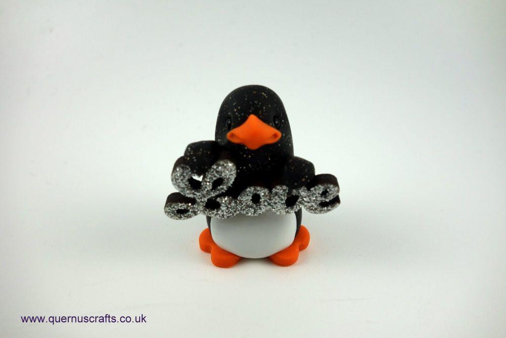 Little Sparkly Love Penguin