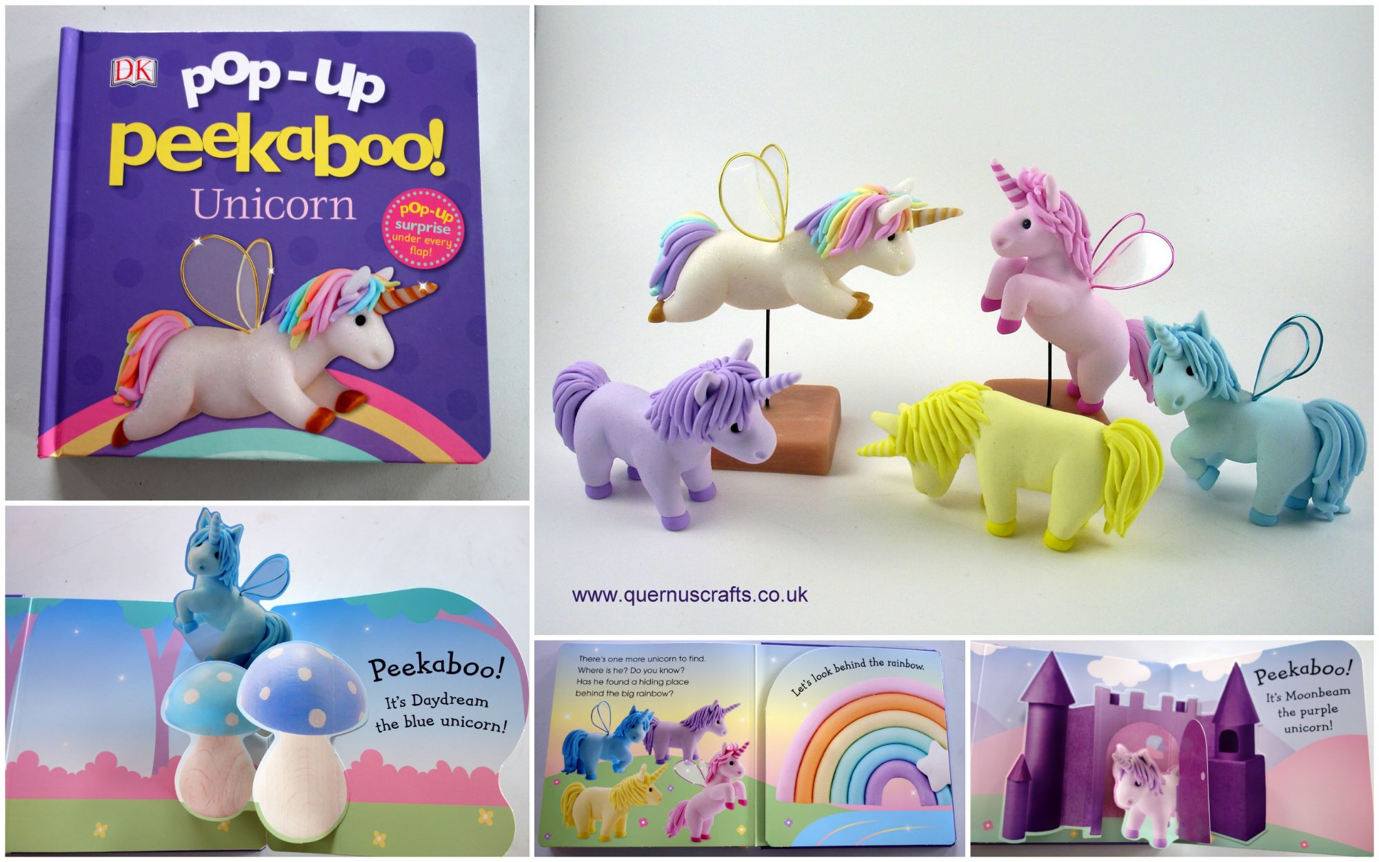 Pop-up Peekaboo Unicorn book