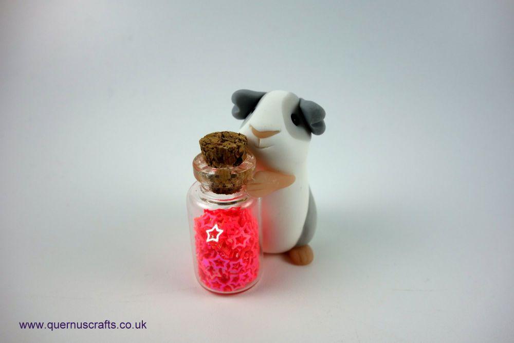 Little Sparkle Jar Guinea Pig (Pink)