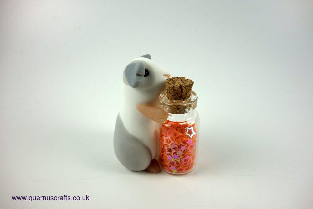 Little Sparkle Jar Guinea Pig (Orange)