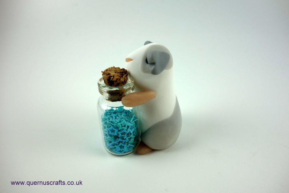 Little Sparkle Jar Guinea Pig (Blue)