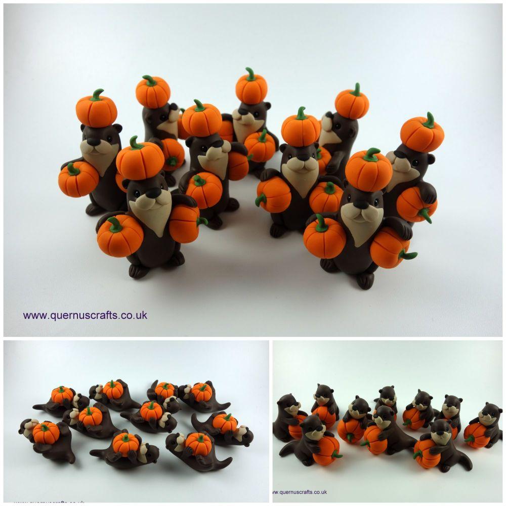 Pumpkin Otters