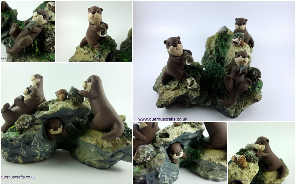 Otters Sculpture June 20191