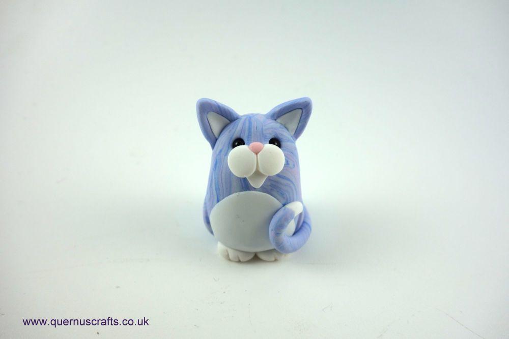 Little Lavender Fatty Cat