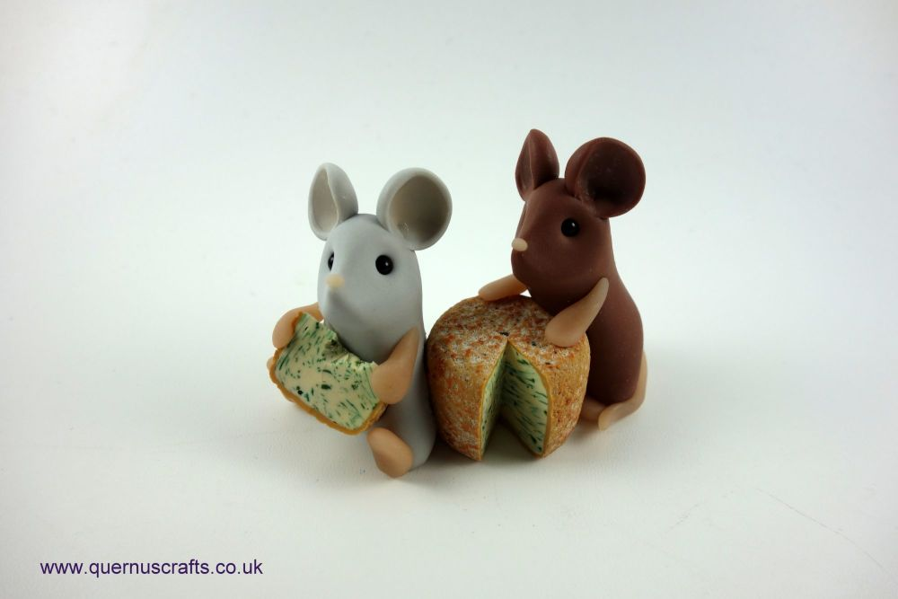 Two Little Stilton Mice