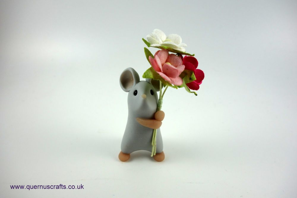 Little Grey Blossom Mouse
