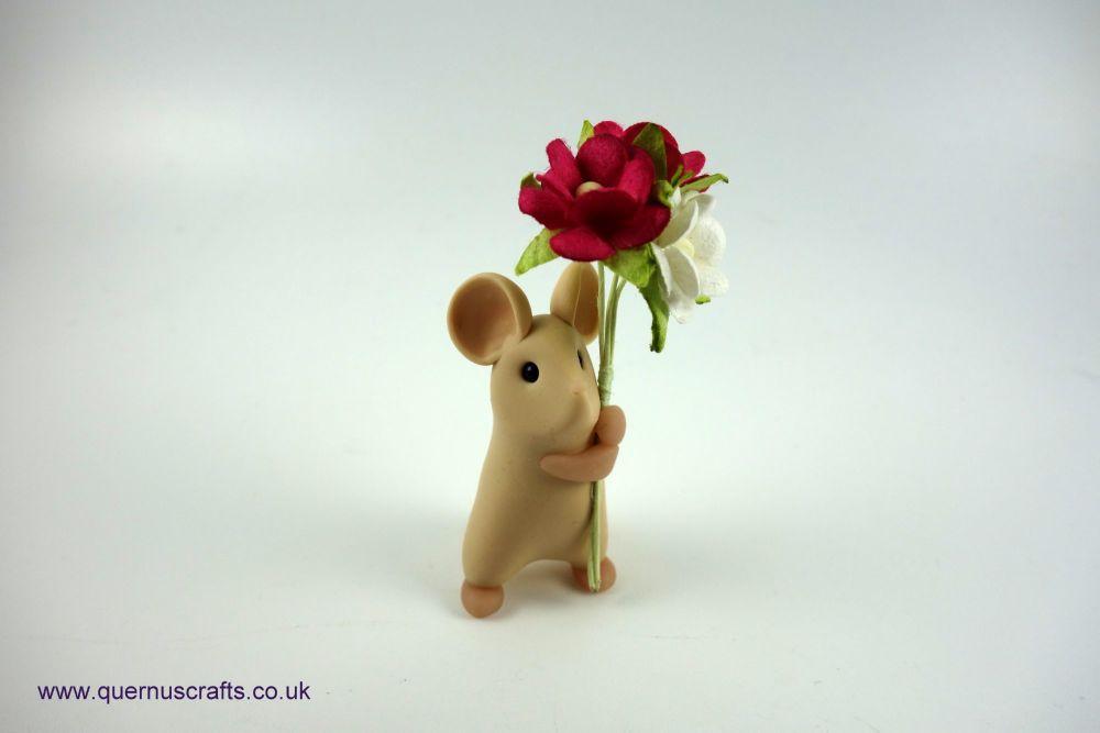 Little Tan Blossom Mouse