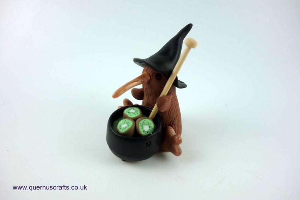 Wee Witchy Cauldron Kiwi