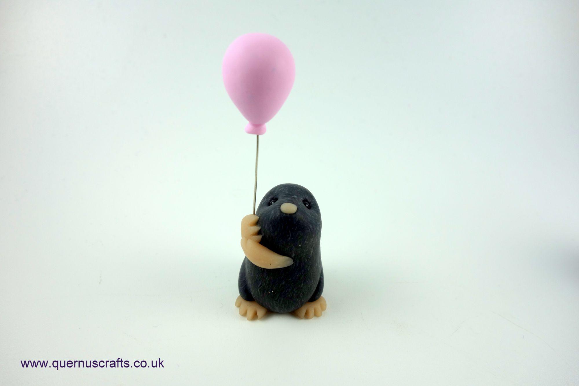 Wee Pink Balloon Mole