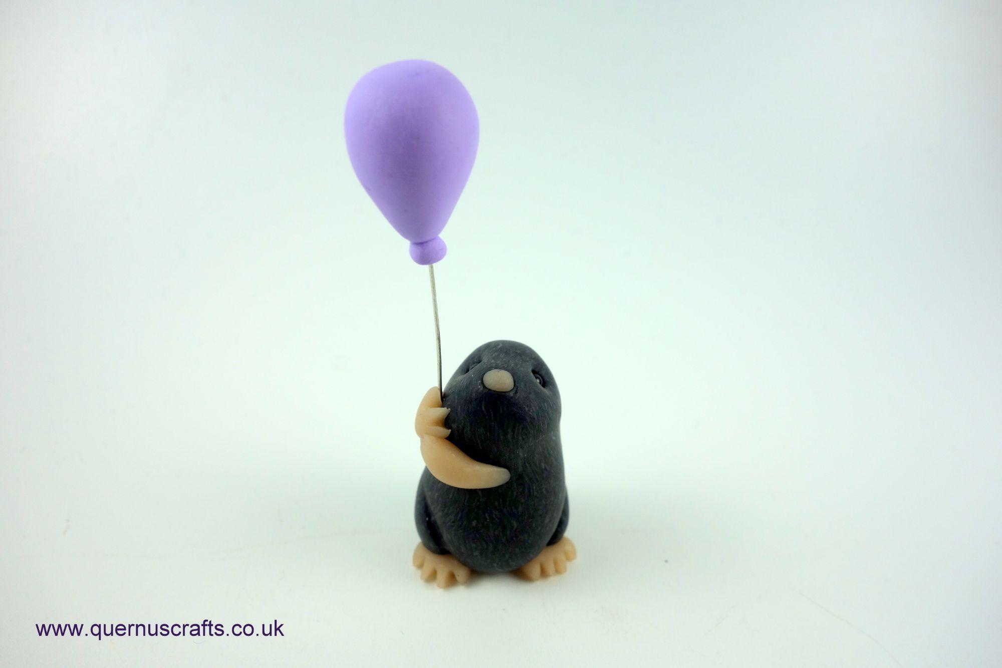Wee Lilac Balloon Mole