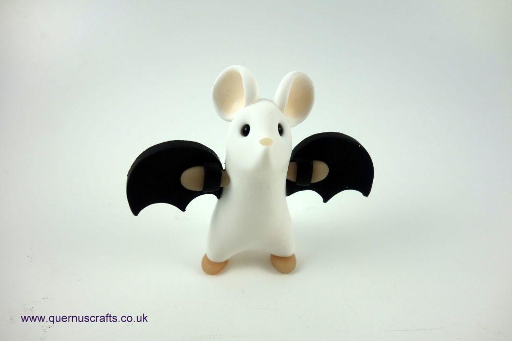 Little White Bat Mouse