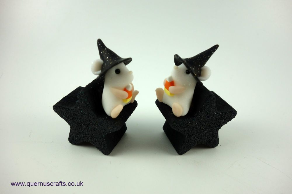 Teeny Halloween Star Mouse (2 available)