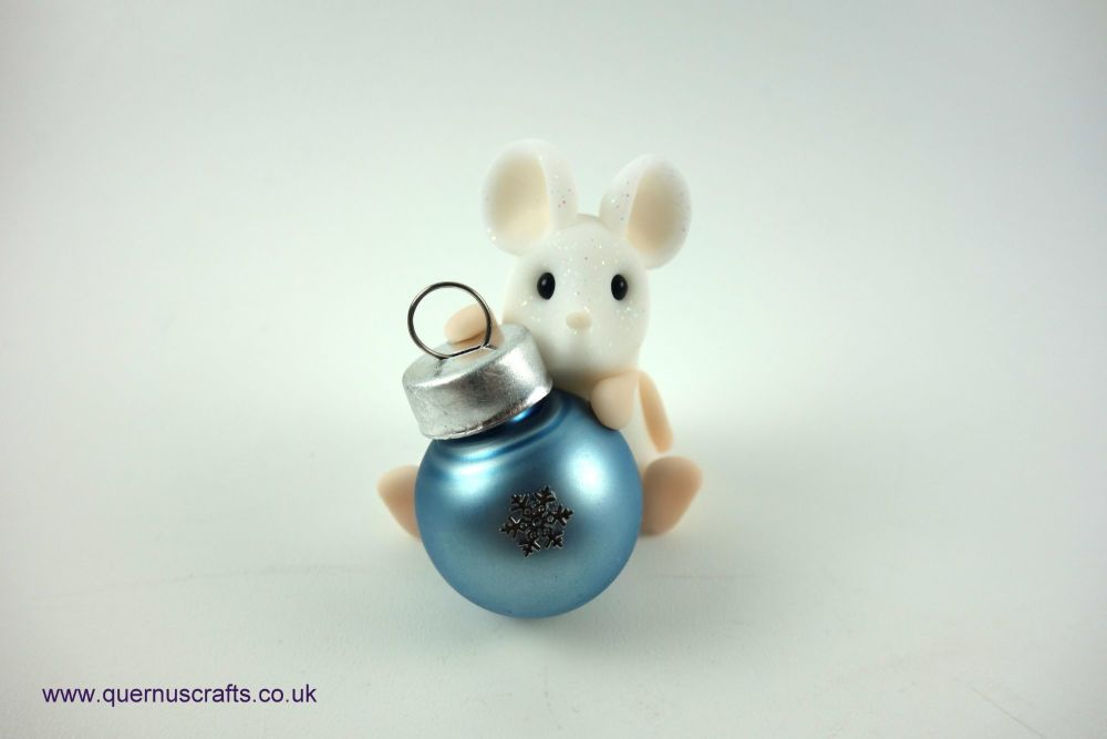 Little Bauble Mouse (Frosted Pale Blue)