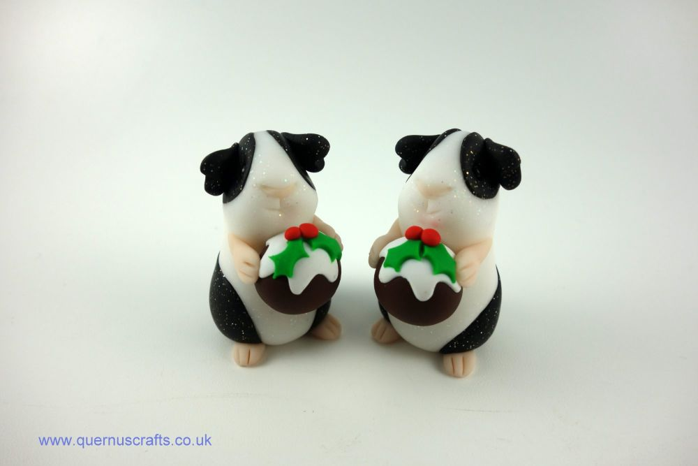Little Christmas Pudding Guinea Pig (2 available)