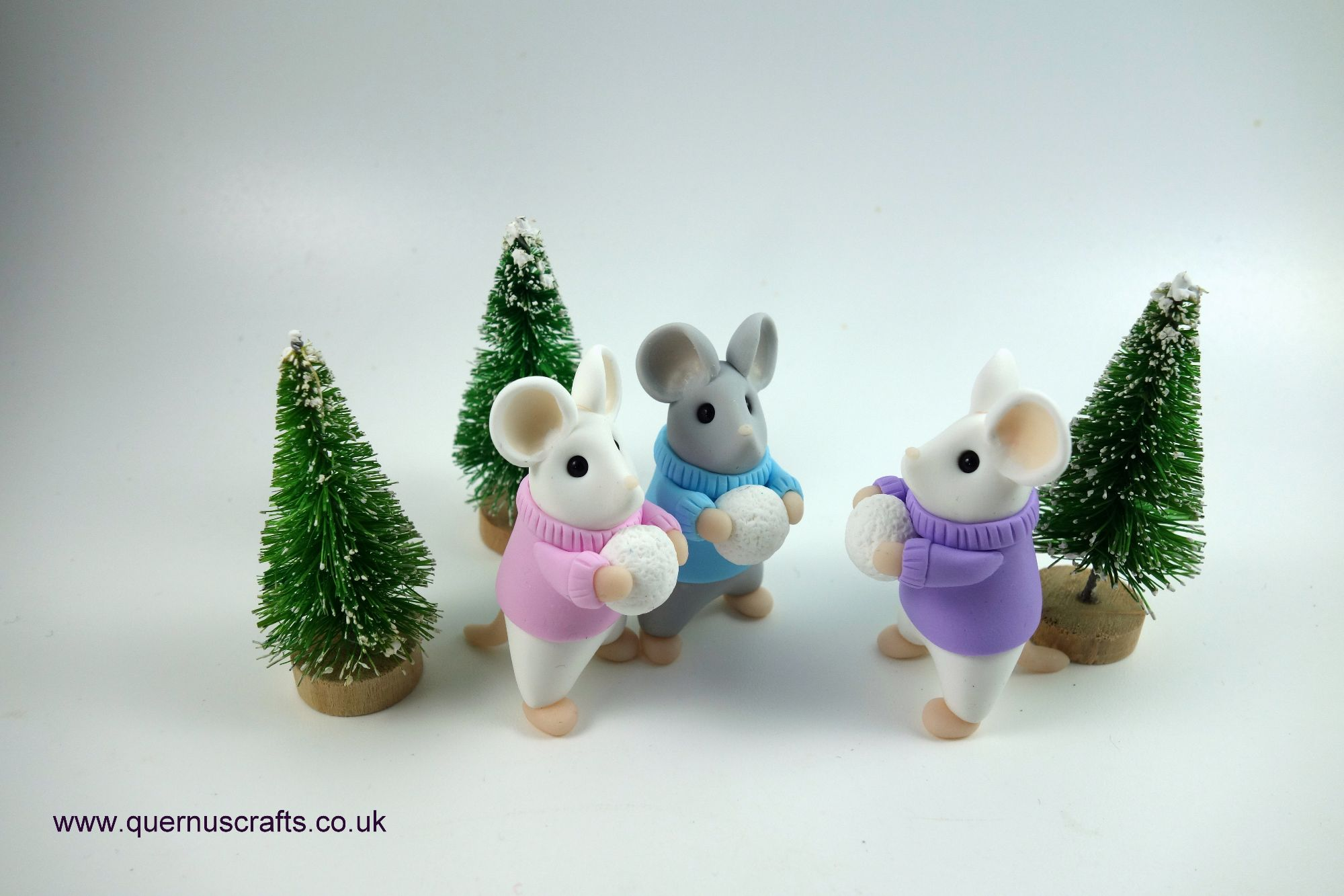 January - Cozy Wee Snowball Mice